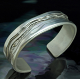 Silver Cuff Bracelets for Men and Women